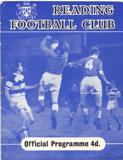 Friday, March 2, 1962 - vs. Reading (Away)