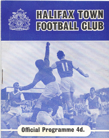 Monday, March 19, 1962 - vs. Halifax Town (Away)