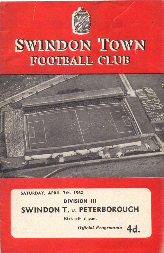 Saturday, April 7, 1962 - vs. Peterborough United (Home)