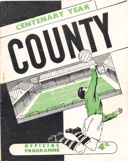 Thursday, April 12, 1962 - vs. Notts County (Away)