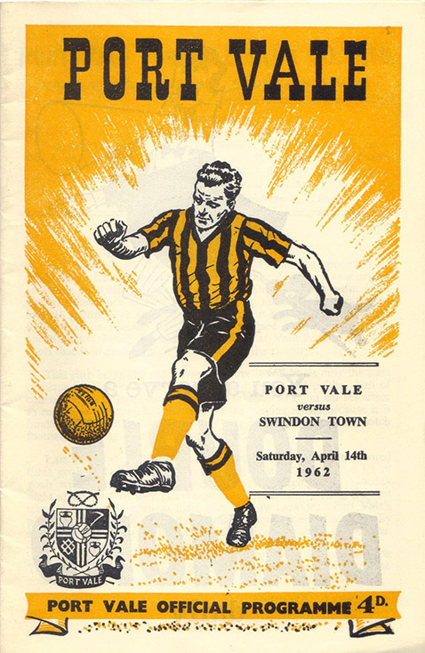 Saturday, April 14, 1962 - vs. Port Vale (Away)