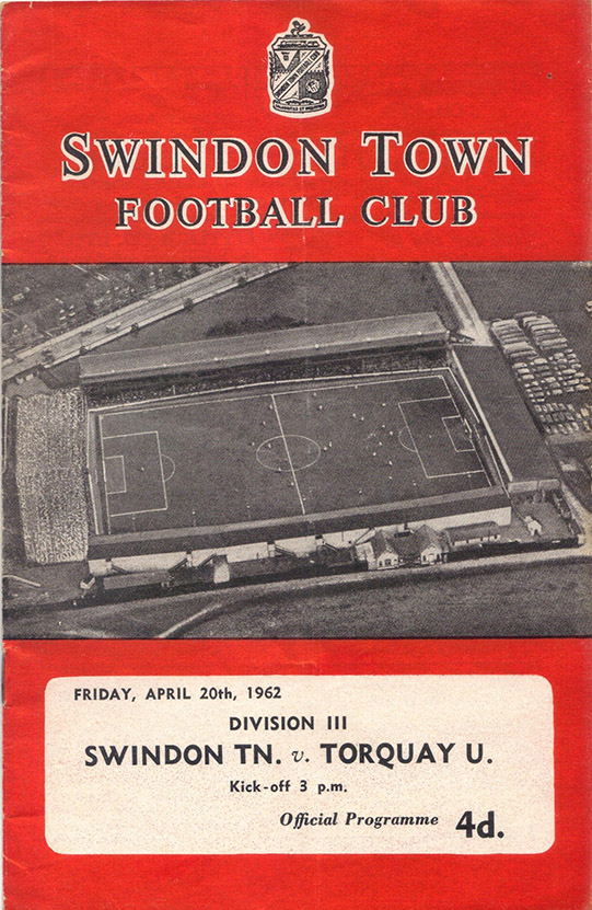 Friday, April 20, 1962 - vs. Torquay United (Home)