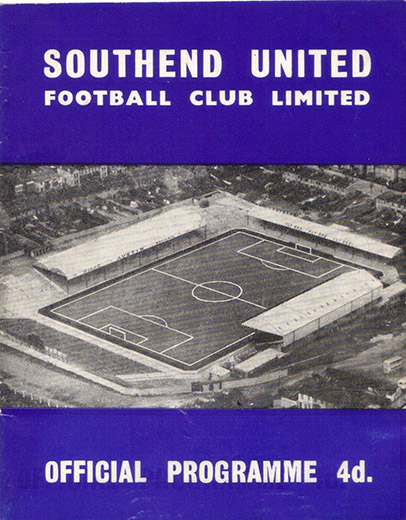 Saturday, April 28, 1962 - vs. Southend United (Away)