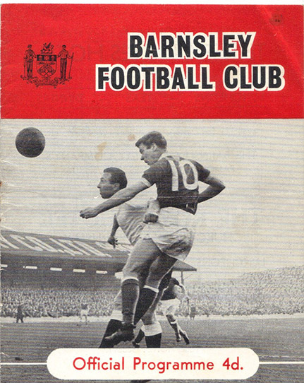 Saturday, August 18, 1962 - vs. Barnsley (Away)