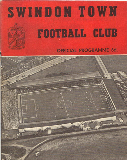 Tuesday, October 2, 1962 - vs. Bristol Rovers (Home)