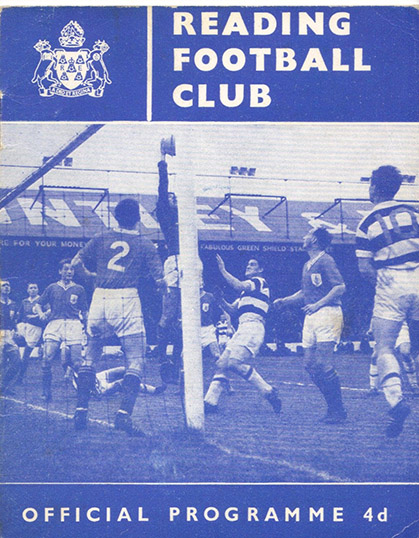 Friday, March 8, 1963 - vs. Reading (Away)