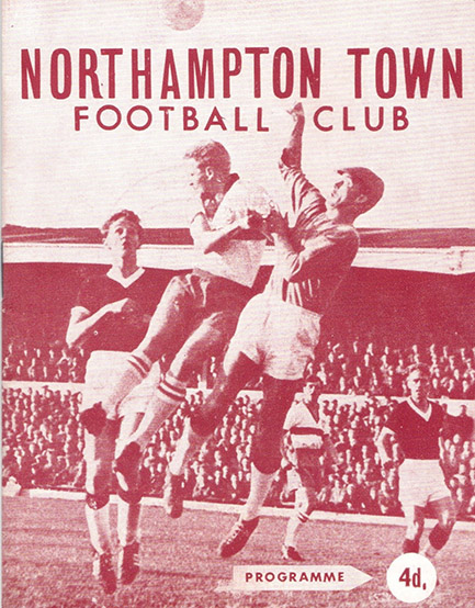 Tuesday, March 26, 1963 - vs. Northampton Town (Away)