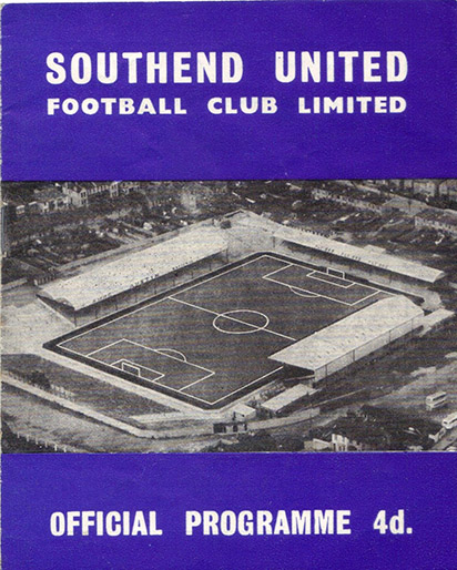 Saturday, April 6, 1963 - vs. Southend United (Away)