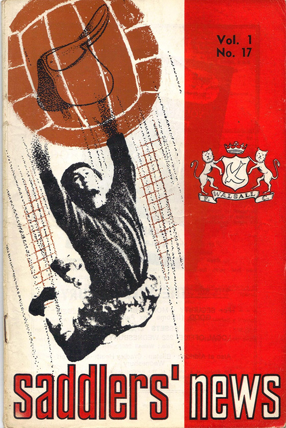 <b>Tuesday, October 18, 1966</b><br />vs. Walsall (Away)