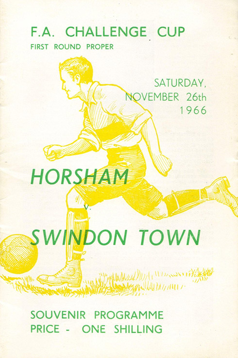 <b>Saturday, November 26, 1966</b><br />vs. Horsham (Away)