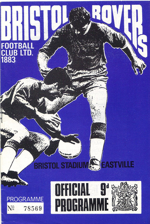Saturday, May 4, 1968 - vs. Bristol Rovers (Away)