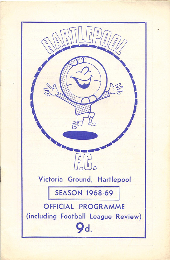 <b>Saturday, August 24, 1968</b><br />vs. Hartlepool (Away)