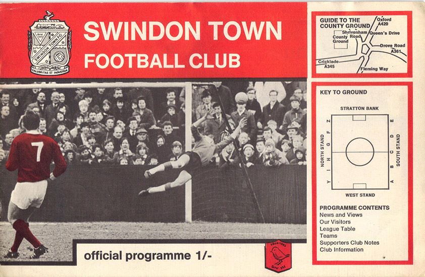 <b>Saturday, September 28, 1968</b><br />vs. Shrewsbury Town (Home)