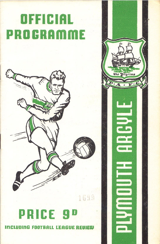<b>Saturday, March 22, 1969</b><br />vs. Plymouth Argyle (Away)