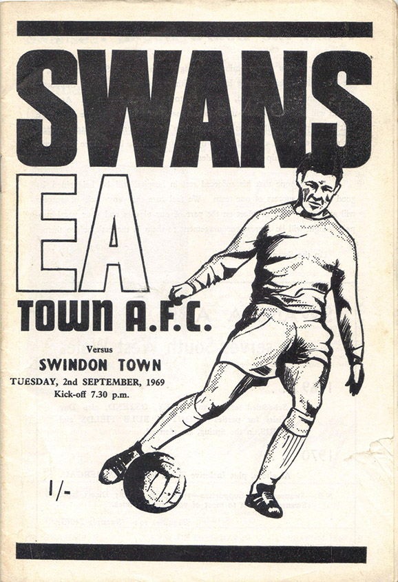 <b>Tuesday, September 2, 1969</b><br />vs. Swansea Town (Away)