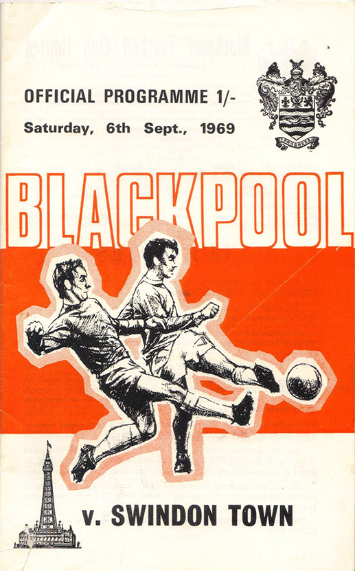 <b>Saturday, September 6, 1969</b><br />vs. Blackpool (Away)