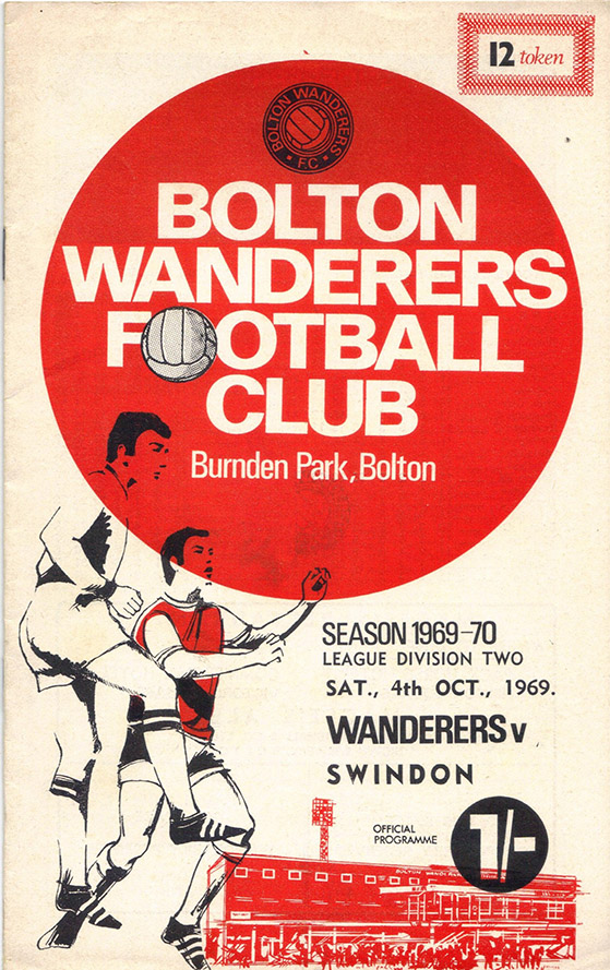 <b>Saturday, October 4, 1969</b><br />vs. Bolton Wanderers (Away)