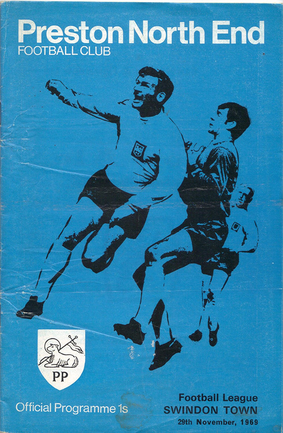 <b>Saturday, November 29, 1969</b><br />vs. Preston North End (Away)