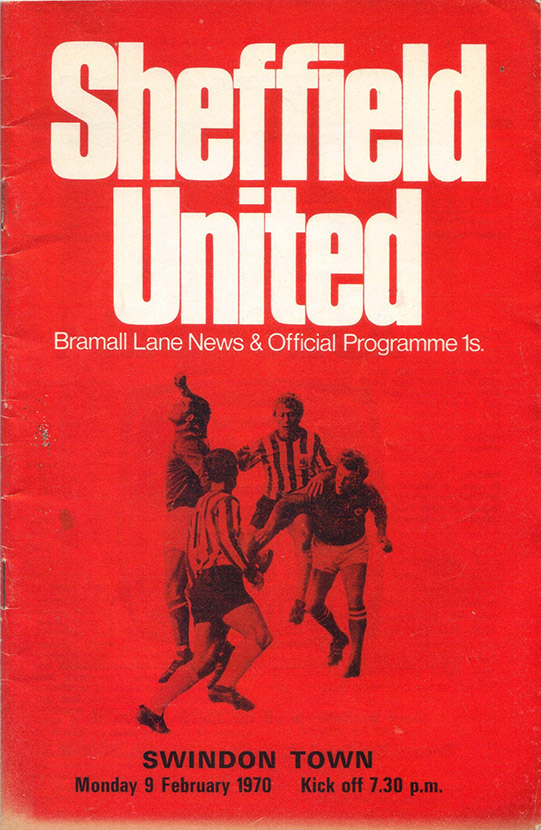 <b>Monday, February 9, 1970</b><br />vs. Sheffield United (Away)
