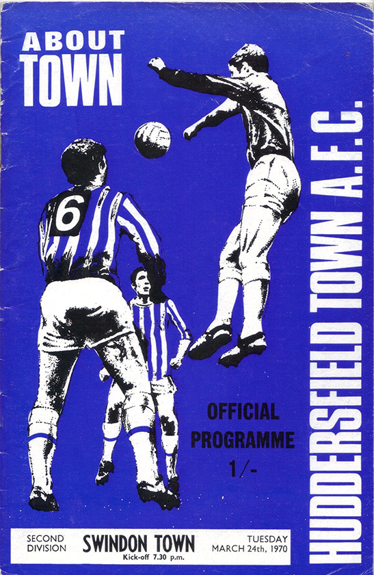 <b>Tuesday, March 24, 1970</b><br />vs. Huddersfield Town (Away)