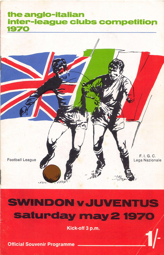 <b>Saturday, May 2, 1970</b><br />vs. Juventus (Home)