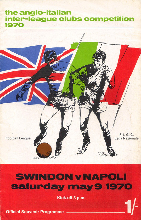 <b>Saturday, May 9, 1970</b><br />vs. SSC Napoli (Home)
