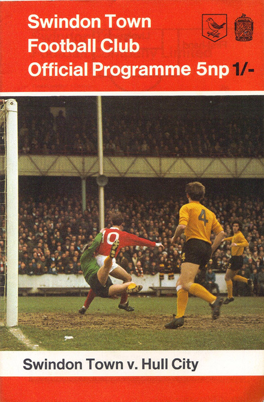 <b>Saturday, August 15, 1970</b><br />vs. Hull City (Home)
