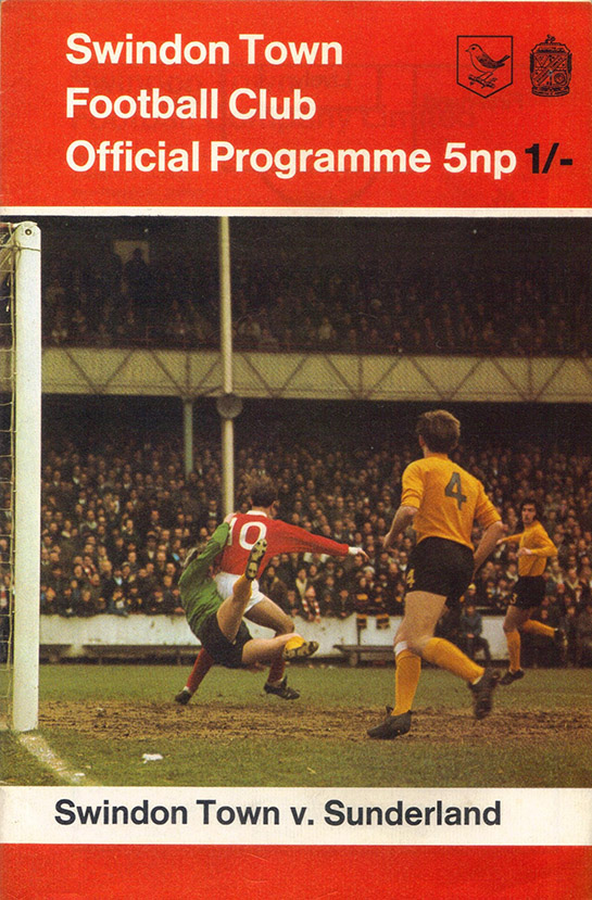 <b>Saturday, August 29, 1970</b><br />vs. Sunderland (Home)