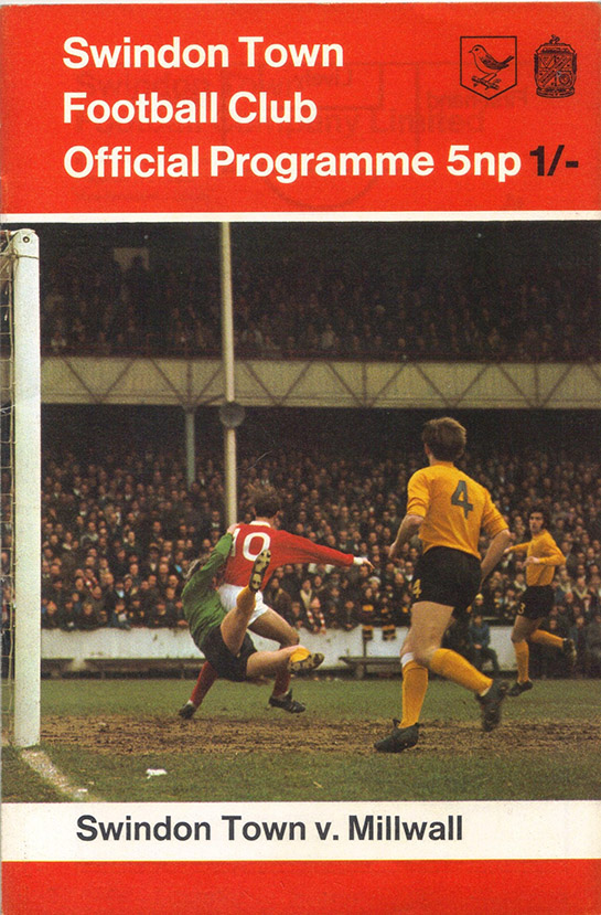 <b>Tuesday, September 29, 1970</b><br />vs. Millwall (Home)