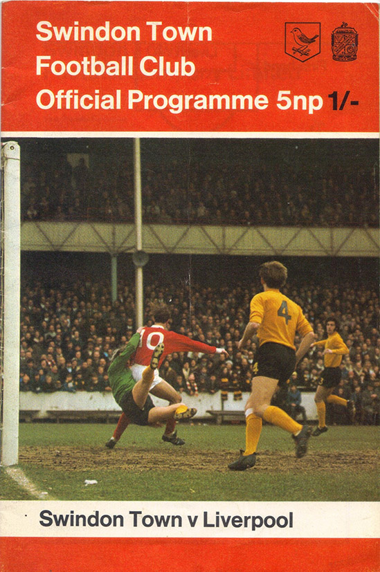 <b>Tuesday, October 6, 1970</b><br />vs. Liverpool (Home)