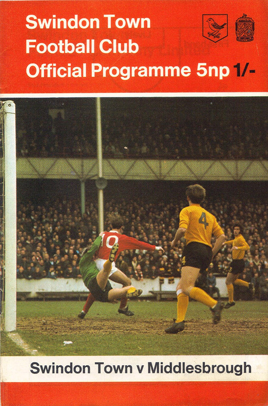 <b>Saturday, October 24, 1970</b><br />vs. Middlesbrough (Home)