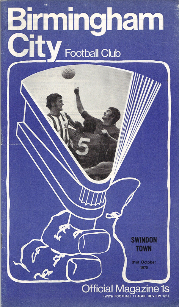 <b>Saturday, October 31, 1970</b><br />vs. Birmingham City (Away)