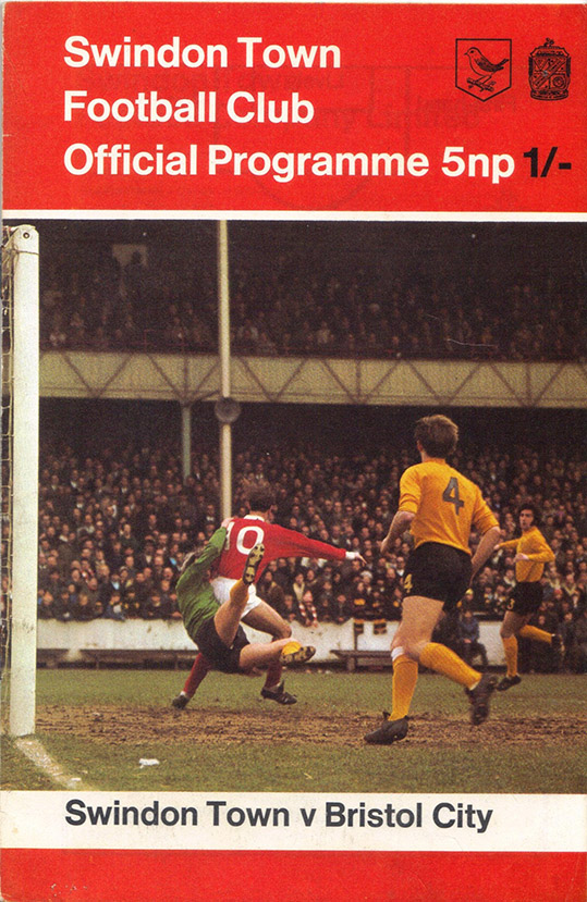 <b>Saturday, November 7, 1970</b><br />vs. Bristol City (Home)