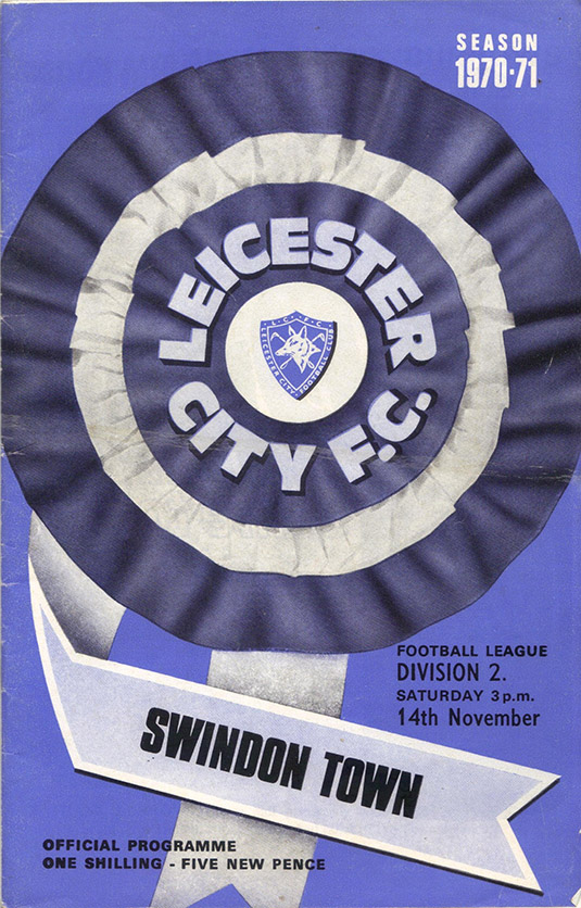 <b>Saturday, November 14, 1970</b><br />vs. Leicester City (Away)