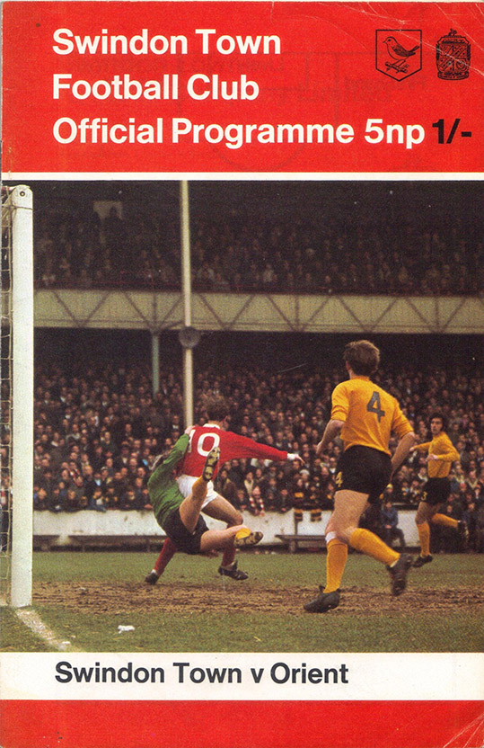 <b>Saturday, December 12, 1970</b><br />vs. Orient (Home)