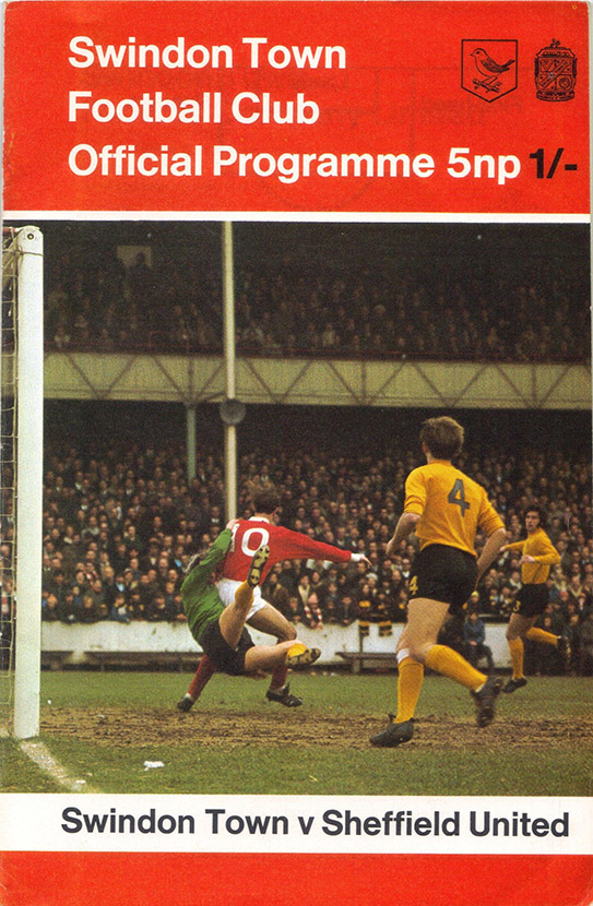 <b>Saturday, December 19, 1970</b><br />vs. Sheffield United (Home)