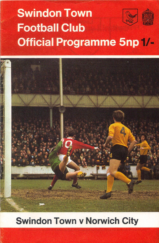 <b>Saturday, January 16, 1971</b><br />vs. Norwich City (Home)