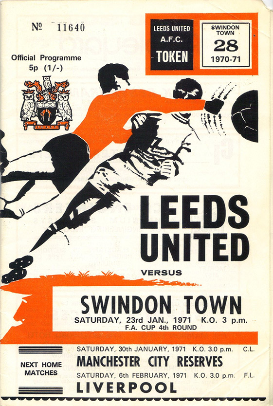 <b>Saturday, January 23, 1971</b><br />vs. Leeds United (Away)