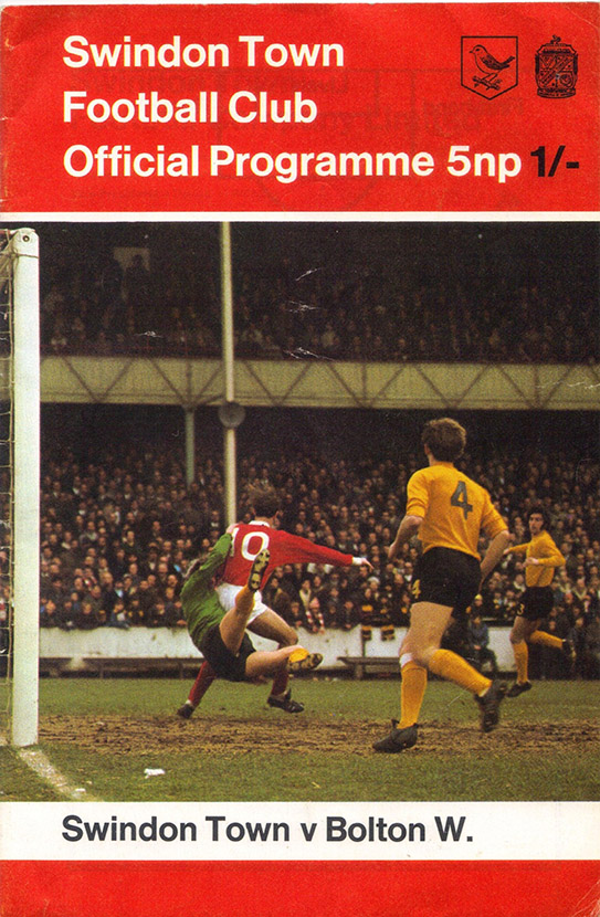 <b>Saturday, February 6, 1971</b><br />vs. Bolton Wanderers (Home)