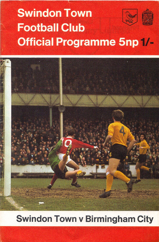 <b>Saturday, February 27, 1971</b><br />vs. Birmingham City (Home)