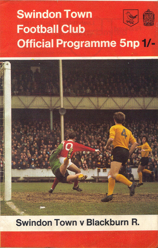 <b>Saturday, March 27, 1971</b><br />vs. Blackburn Rovers (Home)