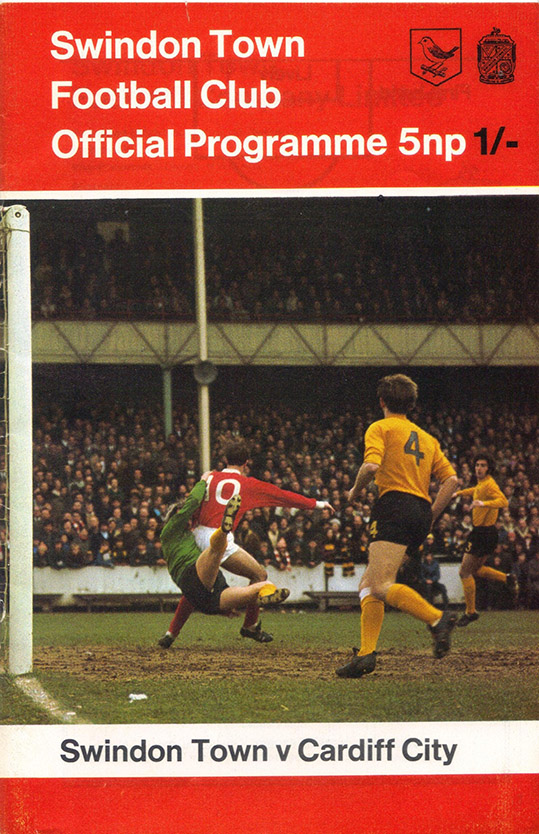 <b>Saturday, April 10, 1971</b><br />vs. Cardiff City (Home)