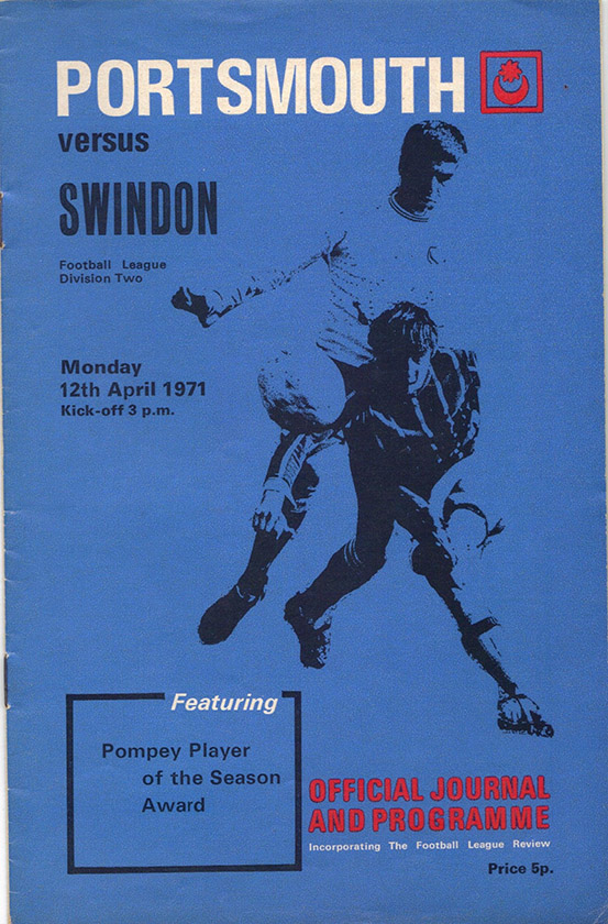 <b>Monday, April 12, 1971</b><br />vs. Portsmouth (Away)