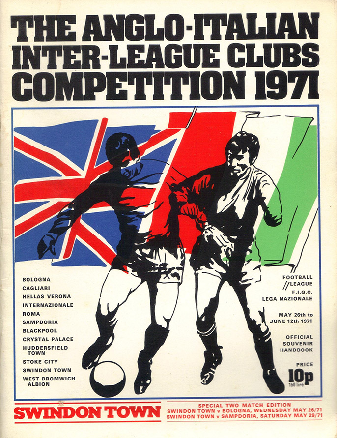 <b>Wednesday, May 26, 1971</b><br />vs. Bologna FC 1909 (Home)
