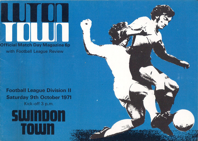 <b>Saturday, October 9, 1971</b><br />vs. Luton Town (Away)