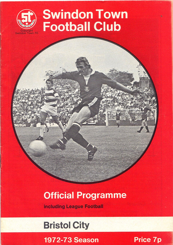 <b>Saturday, August 26, 1972</b><br />vs. Bristol City (Home)