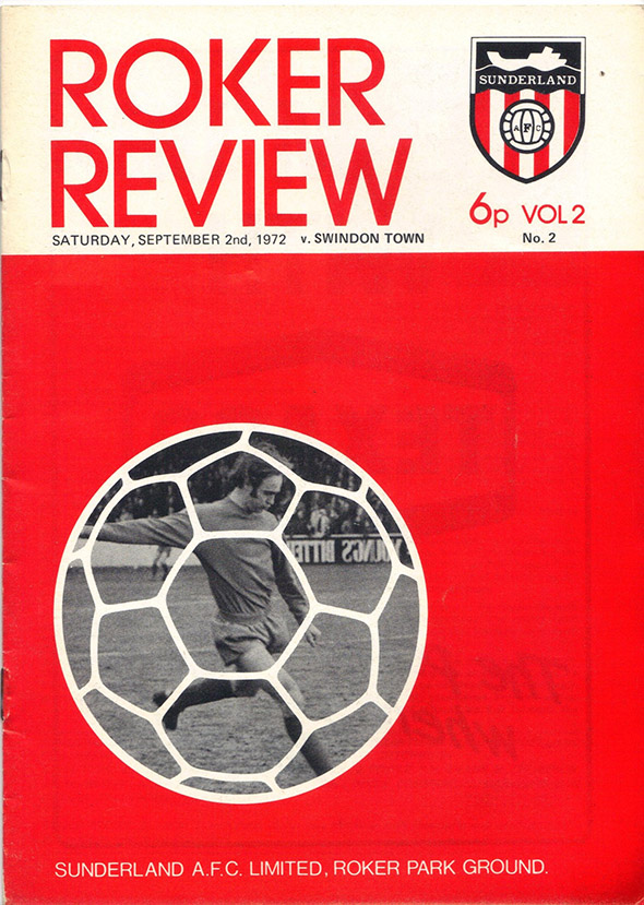 <b>Saturday, September 2, 1972</b><br />vs. Sunderland (Away)