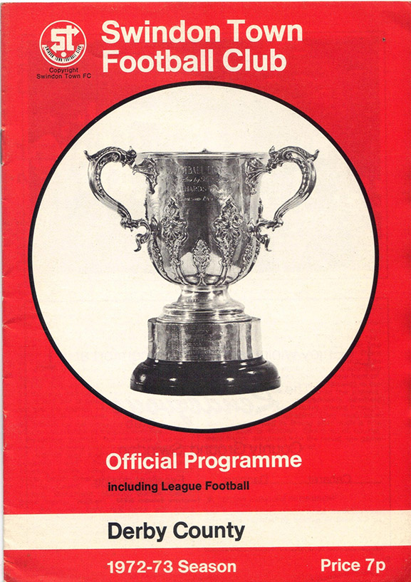 <b>Tuesday, September 5, 1972</b><br />vs. Derby County (Home)