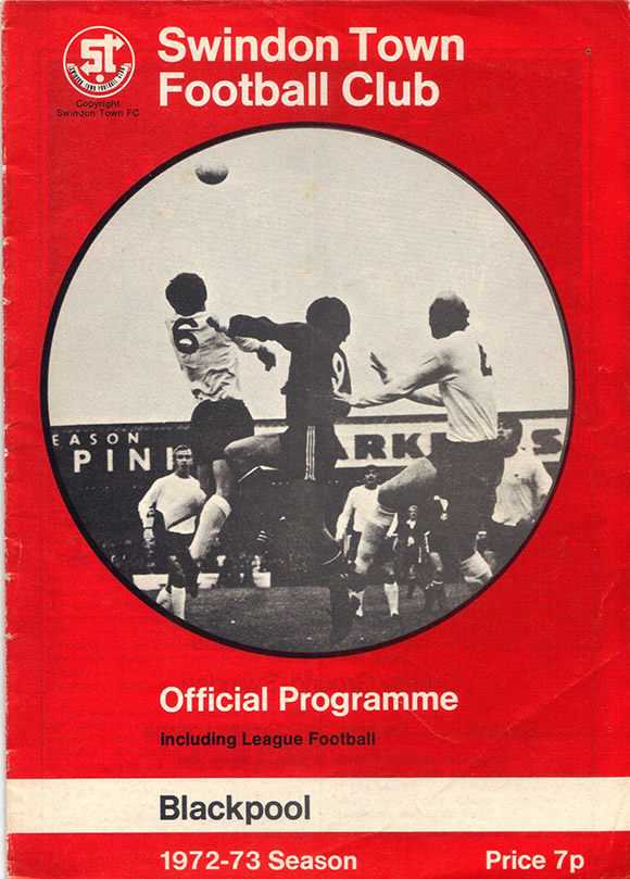<b>Saturday, September 9, 1972</b><br />vs. Blackpool (Home)