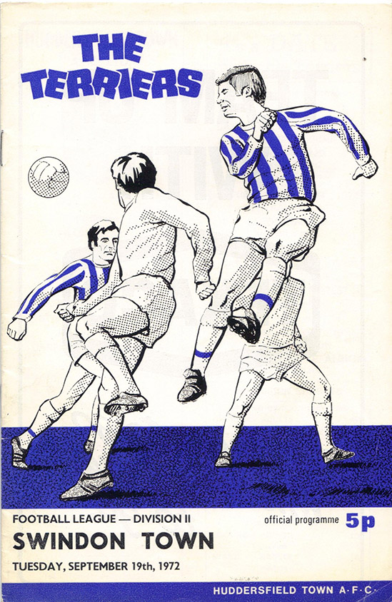 <b>Tuesday, September 19, 1972</b><br />vs. Huddersfield Town (Away)